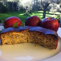 I LOVE APPLE...con le mele  raccolte in VAL DI NON...Torta Saracena di mele   post 1