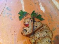 pane ai pomodorini e olive