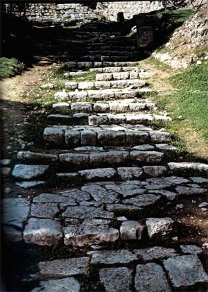 scalinata di gesu