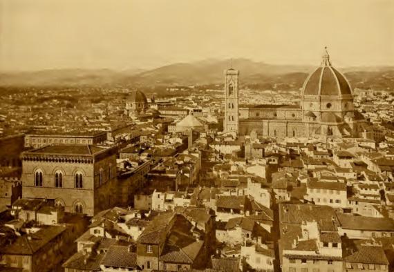 "Firenze - Panorama - Foto tratta da ""Firenze"" di Tarchiali N. - Ist.Italiano Arti Grafiche, 1878"